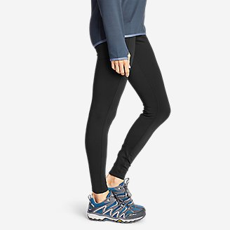 Thumbnail View 3 - Women's Crossover Trail Tight Leggings - High Rise