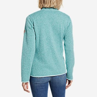 Thumbnail View 2 - Women's Radiator Fleece Full-Zip Mock
