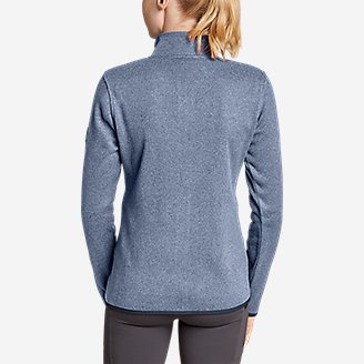 Thumbnail View 2 - Women's Radiator Fleece Full-Zip Mock