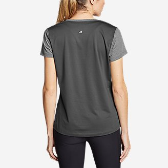 Thumbnail View 2 - Women's TrailCool Scoop-Neck T-Shirt