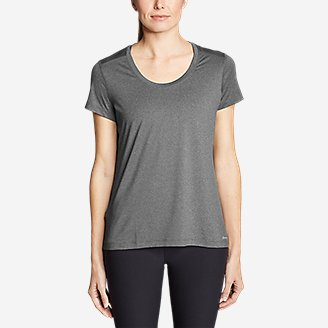 Thumbnail View 3 - Women's TrailCool Scoop-Neck T-Shirt