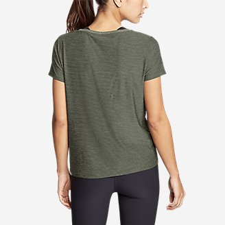 Thumbnail View 2 - Women's Infinity Scoop-Neck T-Shirt w/Pocket