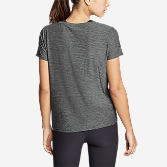 Thumbnail View 2 - Women's Infinity Scoop-Neck T-Shirt w/Pocket