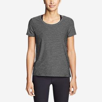 Thumbnail View 3 - Women's Infinity Scoop-Neck T-Shirt w/Pocket