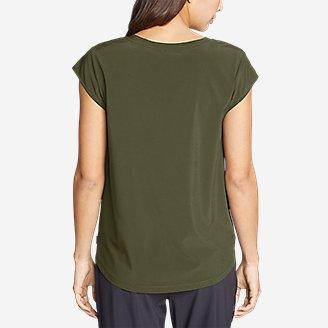 Thumbnail View 2 - Women's Departure Short-Sleeve V-Neck T-Shirt