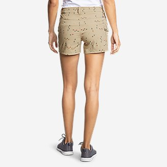 Thumbnail View 2 - Women's Horizon One Cargo Pocket Shorts - Print