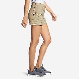 Thumbnail View 3 - Women's Horizon One Cargo Pocket Shorts - Print