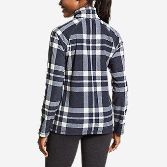 Thumbnail View 2 - Women's Quest Fleece 1/4-Zip - Printed