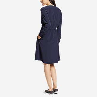 Thumbnail View 2 - Women's Departure Long-Sleeve Wrap Dress