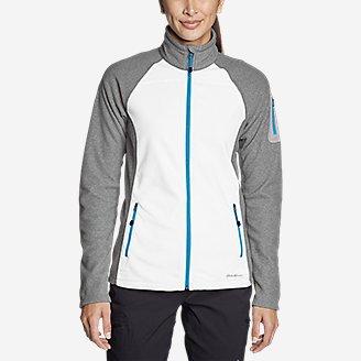Thumbnail View 2 - Women's Cloud Layer Pro Fleece Full-Zip Jacket - Color-Blocked