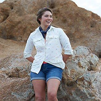 Thumbnail View 3 - Women's Mountain Long-Sleeve Shirt