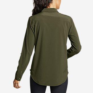 Thumbnail View 2 - Women's Departure Long-Sleeve Shirt