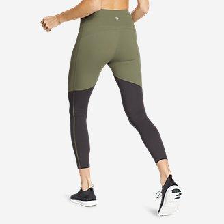 Thumbnail View 2 - Women's Movement Lux High-Rise 7/8-Length Leggings - Color Blocked