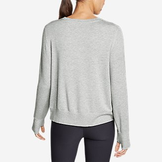 Thumbnail View 3 - Women's Enliven Ultrasoft Long-Sleeve Sweatshirt