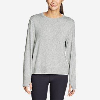 Thumbnail View 2 - Women's Enliven Ultrasoft Long-Sleeve Sweatshirt