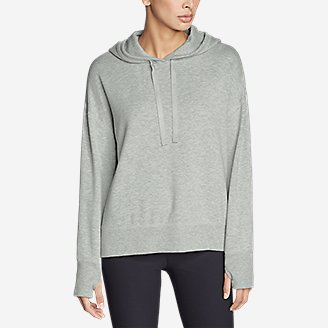 Thumbnail View 3 - Women's Enliven Ultrasoft Long-Sleeve Hoodie