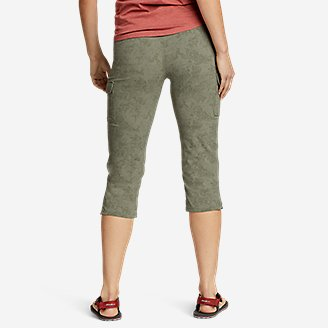 Thumbnail View 2 - Women's Sightscape Horizon Cargo Capris - Print