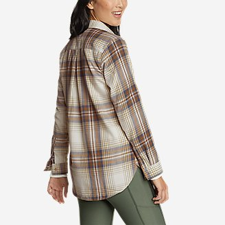Thumbnail View 2 - Women's Eddie Bauer Expedition Performance Flannel 2.0 Shirt