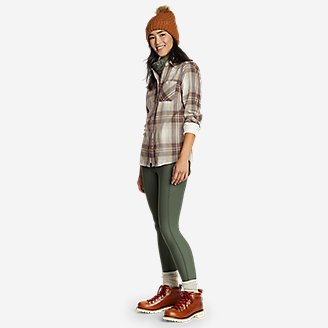 Thumbnail View 3 - Women's Eddie Bauer Expedition Performance Flannel 2.0 Shirt