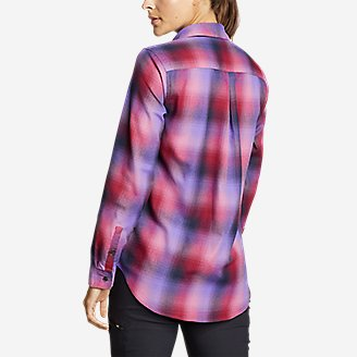 Thumbnail View 2 - Women's Eddie Bauer Expedition Performance Flannel Shirt