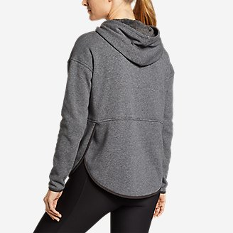 Thumbnail View 2 - Women's Northern Lights Plush Pullover Hoodie