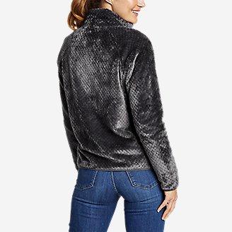 Thumbnail View 2 - Women's Alpine Plush Full-Zip Jacket