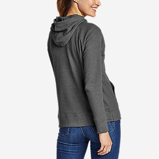 Thumbnail View 2 - Women's Myriad Thermal Relaxed Pullover Hoodie