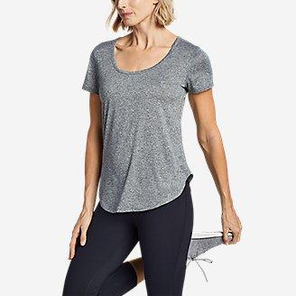Thumbnail View 2 - Women's Resolution Short-Sleeve Cross-Back T-Shirt