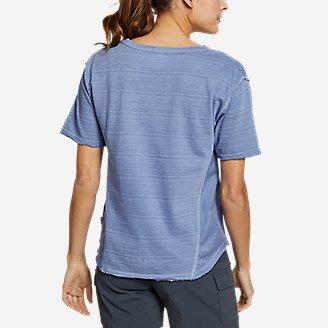 Thumbnail View 2 - Women's Go-To U-Neck T-Shirt