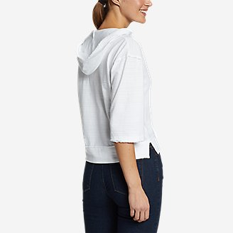Thumbnail View 2 - Women's Go-To 3/4-Sleeve Hoodie