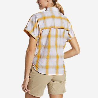Thumbnail View 2 - Women's Mountain Short-Sleeve Camp Shirt