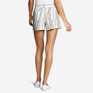 Thumbnail View 2 - Women's Linen Shorts
