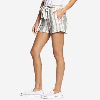 Thumbnail View 3 - Women's Linen Shorts