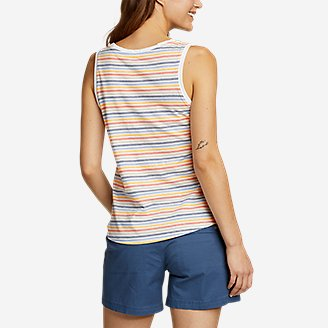 Thumbnail View 2 - Women's Myriad Tank Top - Stripe