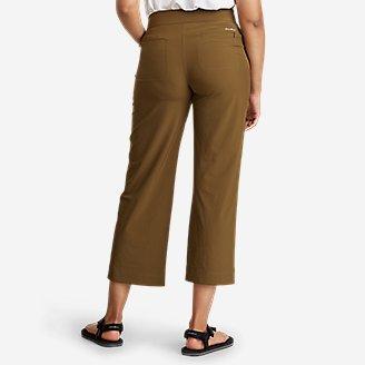 Thumbnail View 2 - Women's Departure Wide-Leg Utility Crop Pants