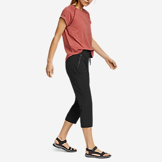 Thumbnail View 3 - Women's Departure Pull-On Crop Pants