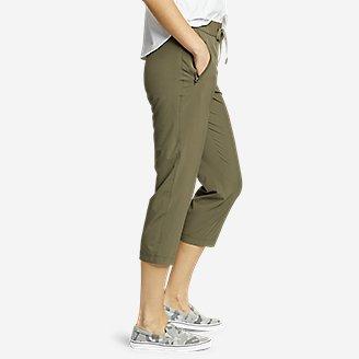 Thumbnail View 3 - Women's Departure Pull-On Crop Pants