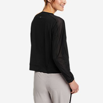 Thumbnail View 2 - Women's Resolution 360 Mesh Mix Long-Sleeve Pullover
