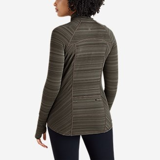 Thumbnail View 2 - Women's Trail Light Ruched Full-Zip Jacket