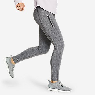 Thumbnail View 3 - Women's Crossover Winter Trail Adventure High-Rise Leggings
