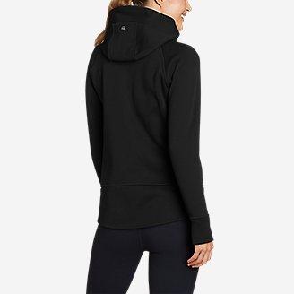 Thumbnail View 2 - Women's Outpace Storm Fleece Full-Zip Hoodie