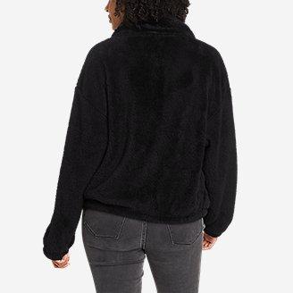 Thumbnail View 2 - Women's Quest Plush Snap-Front Jacket
