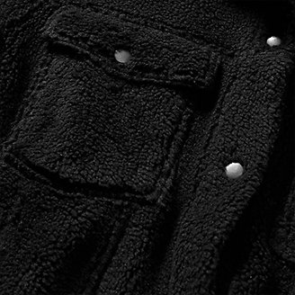 Thumbnail View 3 - Women's Sherpa-Fleece Trucker Jacket