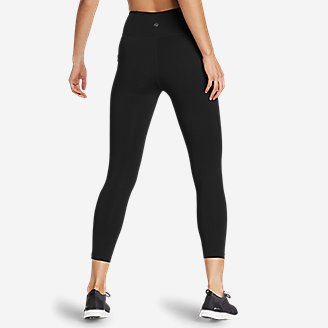 Thumbnail View 2 - Women's Movement Lux 7/8-Length Side-Pocket Leggings