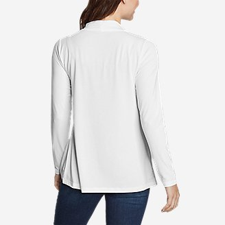 Thumbnail View 2 - Women's Daisy 2.0 Long-Sleeve Wrap - Solid
