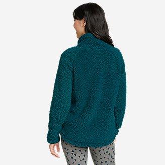 Thumbnail View 2 - Women's Fireside Plush Pullover
