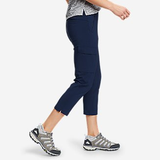 Thumbnail View 3 - Women's ClimaTrail Cargo Crop Pants