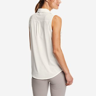 Thumbnail View 2 - Women's Departure 1/2-Zip Tank Top