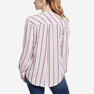 Thumbnail View 2 - Women's Rivierah Long-Sleeve Y-Neck Shirt