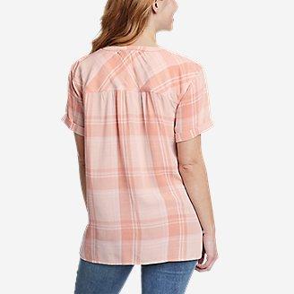 Thumbnail View 2 - Women's Rivierah Short-Sleeve V-Neck Top